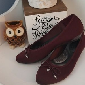 American Eagle Outfitters Shoes - Maroon Flats